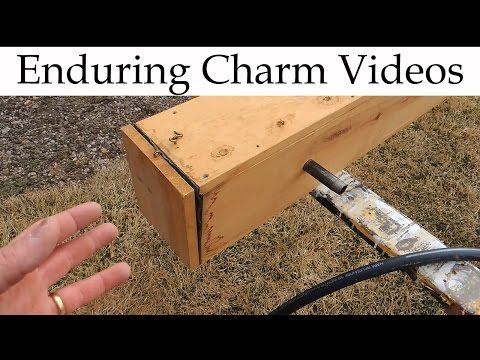 Make A Steam Box To Bend Wood - YouTube