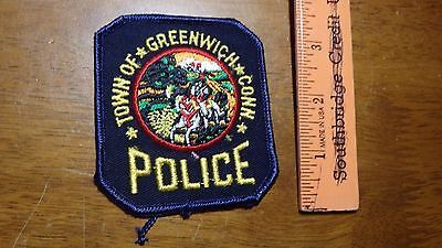 Greenwich Connecticut Department Obsolete   Police Patch Bx 10#29