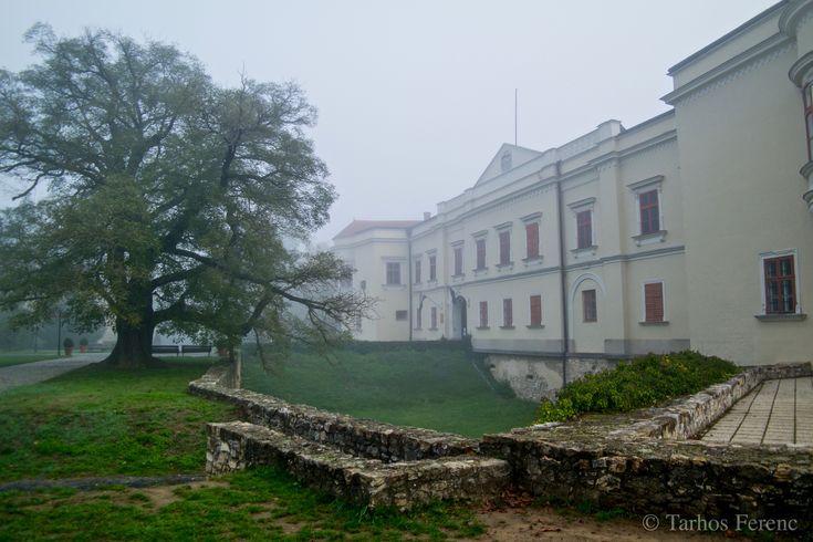 https://flic.kr/p/zWQop3 | Ködös október... | Reggeli séta a Sárospataki Várkertben...