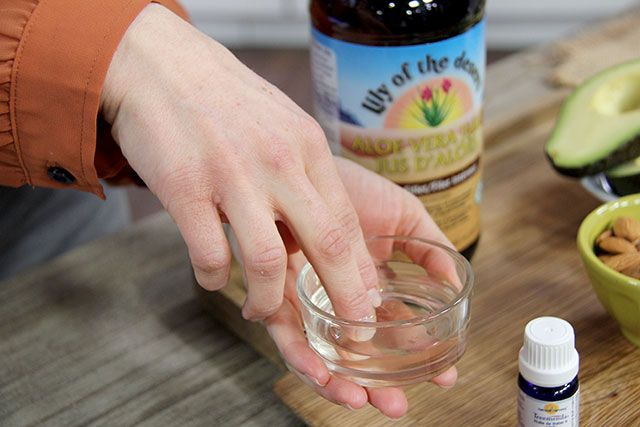 Stop biting your nails by applying aloe vera gel or tea tree oil to fingernails