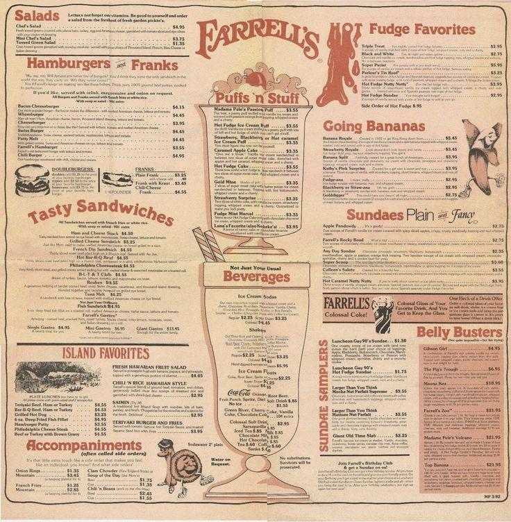 Farrell S Ice Cream Parlor Soda Fountain Pinterest