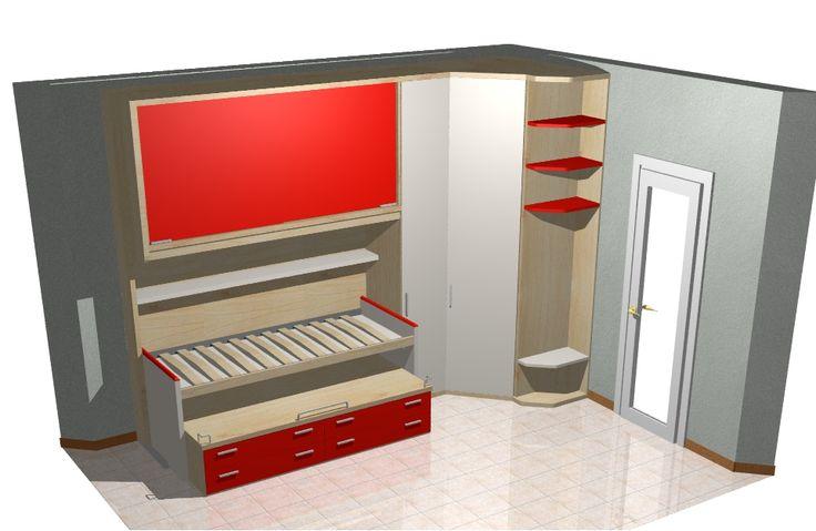 scrivania laccata rossa - Cerca con Google