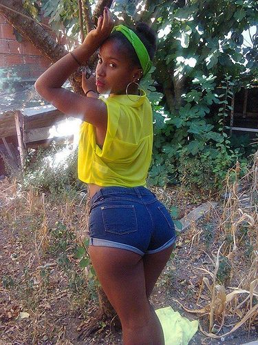 Young african girl pussy