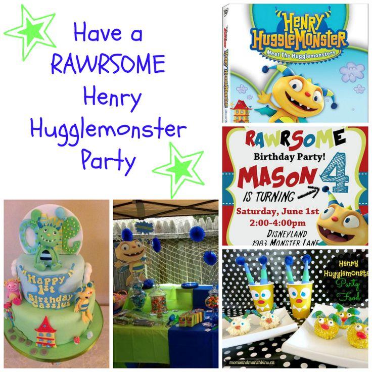 How to Have A RAWRSOME Henry Hugglemonster Party #Disney #ideas #forkids http://www.surfandsunshine.com/henry-hugglemonster-party-ideas/