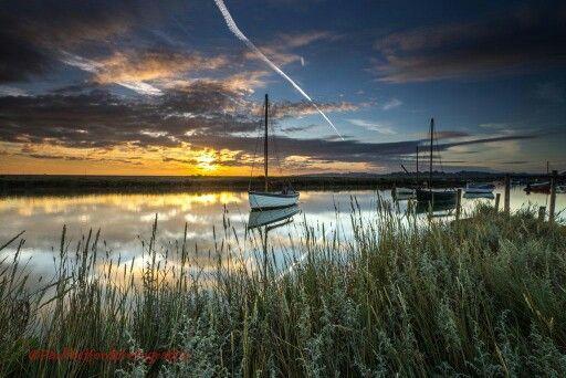 Morston Quay Sunrise - Paul Thetford Photography
