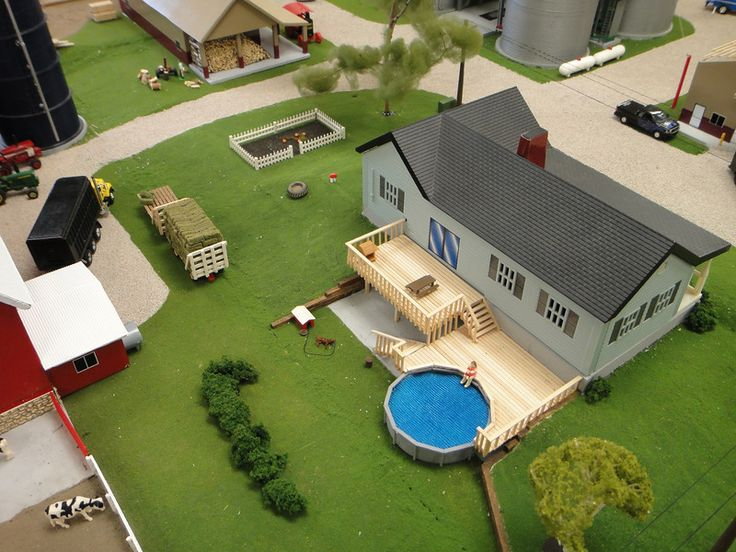 Diorama 1 64 scale 1 64 scale model 2 pinterest for 1 64 farm layouts