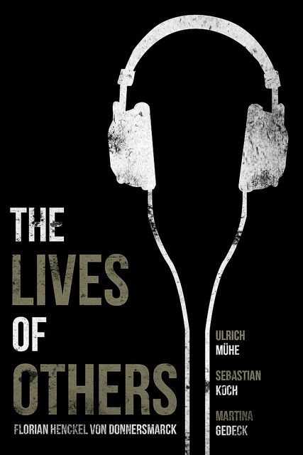 The Lives of Others dir. Florian Henckel von Donnersmarck (2006) - design by Jacob Wise