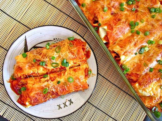 These award winning chorizo and sweet potato enchiladas have a sweet and spicy flavor that will leave you wanting more. Step by step photos.