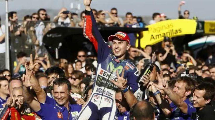 Jorge Lorenzo Wins 2015 MotoGP World Championship at Valencia