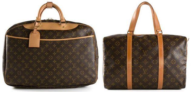 Louis Vuitton - Reisetasche, Koffer, Rucksack, Portemonnaie & Tuch