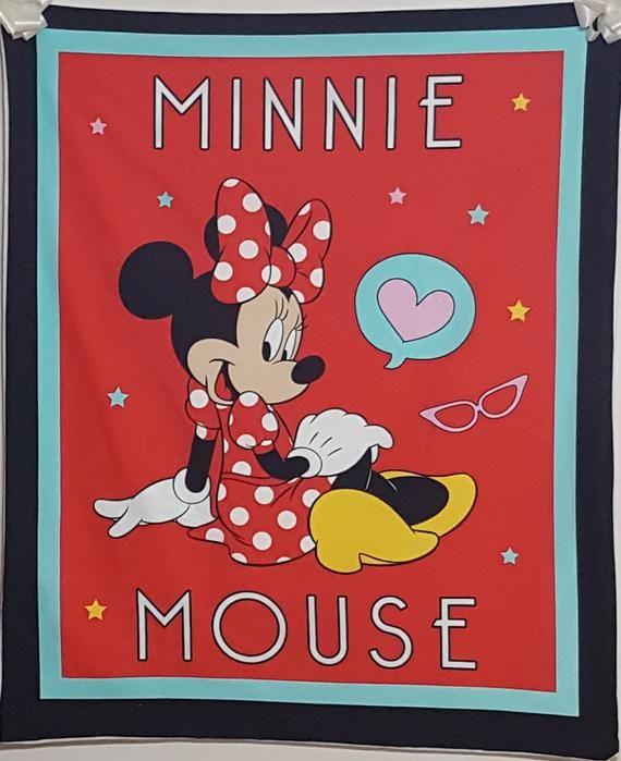Minnie Mouse Baby Girl Fleece Blanket Disney NEW Baby Shower Gift