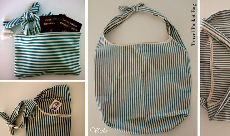Problemi di peso? :D *Viaggia leggero e comodo*  ___#Travel#Pocket#Bag___ Ultra Capiente Ripiegabile da portare in Valigia Disc...