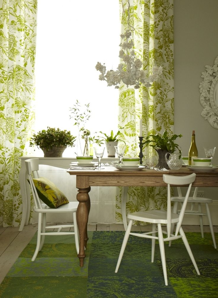BOTANICAL DINING ROOM GOODHOMES MAGAZINE MAY 2013 STYLING EMMA CLAYTON PHOTOGRAPHY PENNY WINCER