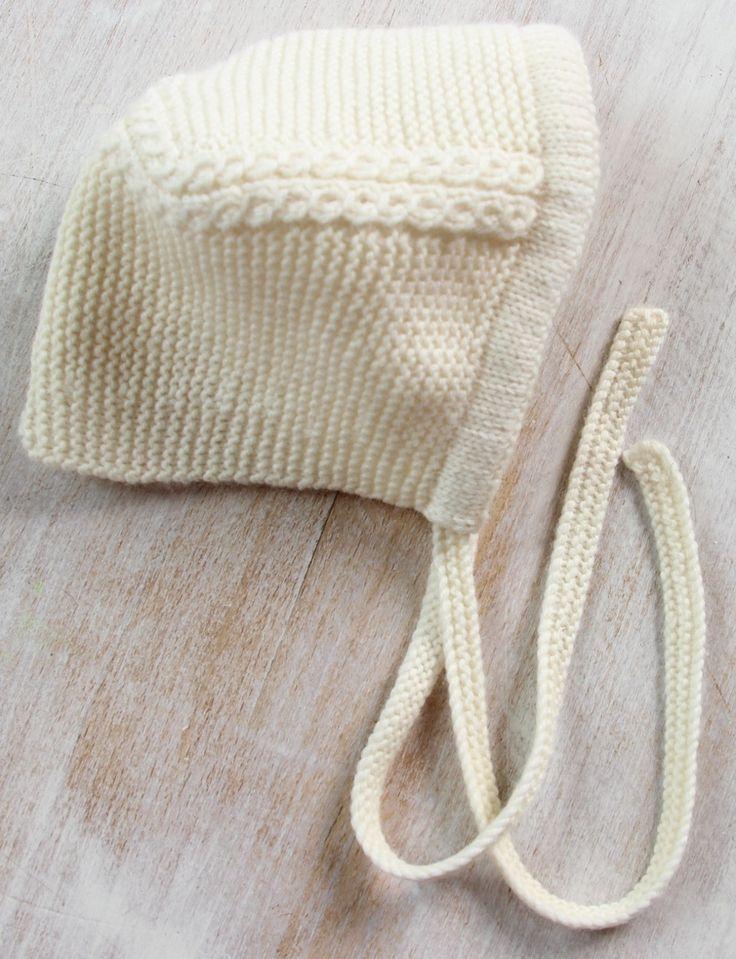 27 / Baby Bonnet Princess Charlotte/ Knitting Pattern ...
