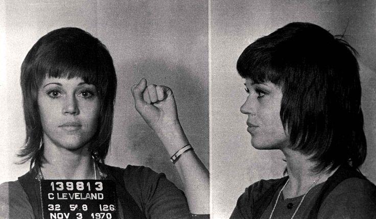 Jane Fonda- Mugshot 1970