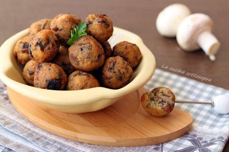 Polpette+di+pane+e+funghi+-+ricetta+del+riciclo
