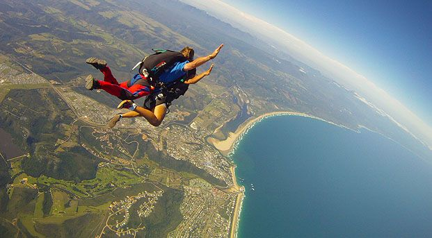 Skydive, Garden Route South Africa