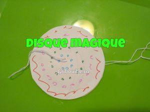 Disque magique par Gribouille éducatif