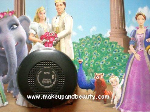 MAC Studio Fix Powder Plus FOundation NC 50