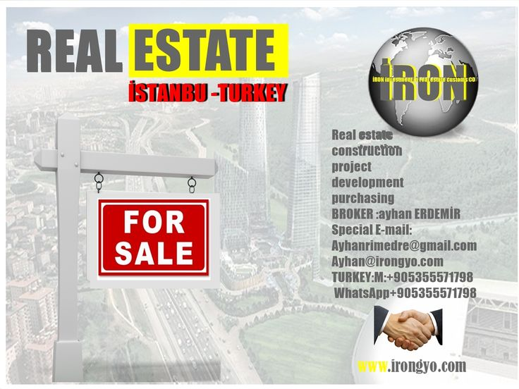 FOR SALE PROJECT: Skyland:.  Skyland, an all in one life at the heart of Istanbul's buzzing city center: https://lnkd.in/dfMRUWV  İRON investment in real estate customs CO…………www.irongyo.com