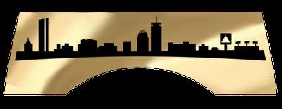 Boston skyline silhouette tats piercings pinterest for Cleveland skyline tattoo