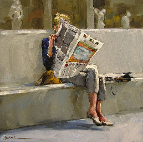 Image result for news painting