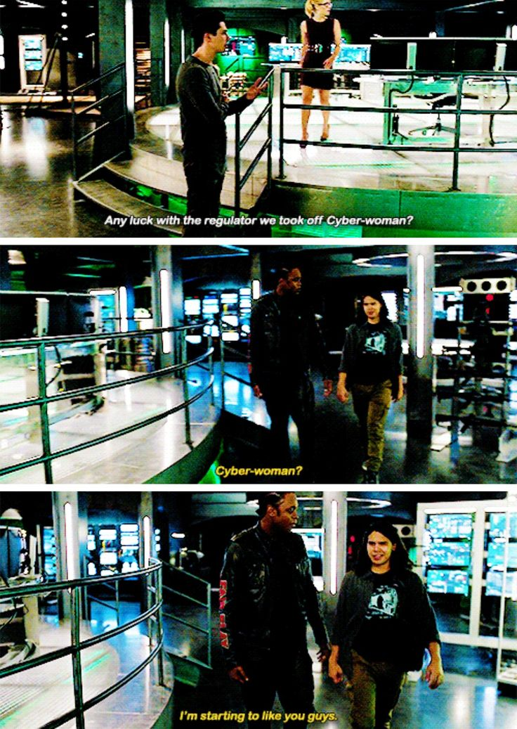 """#Arrow 5x08 """"Invasion"""" - """"Cyber-woman? I'm starting to like you guys"""" -  #CurtisHolt #CiscoRamon"""