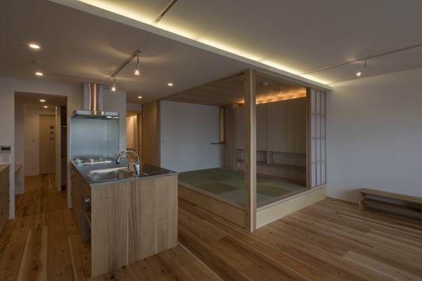 『大黒柱の小上がり和室と音楽室のある木のリノベーション』神奈川県川崎市 | 木のマンションリフォーム・リノベーション設計実例 | 木のマンションリフォーム・リノベーション-マスタープラン一級建築士事務所