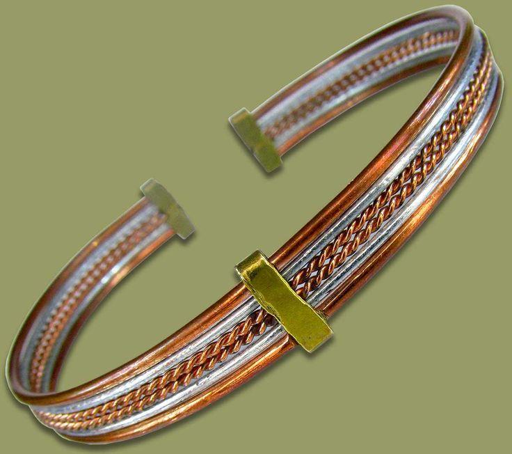 African Copper Bracelet Band