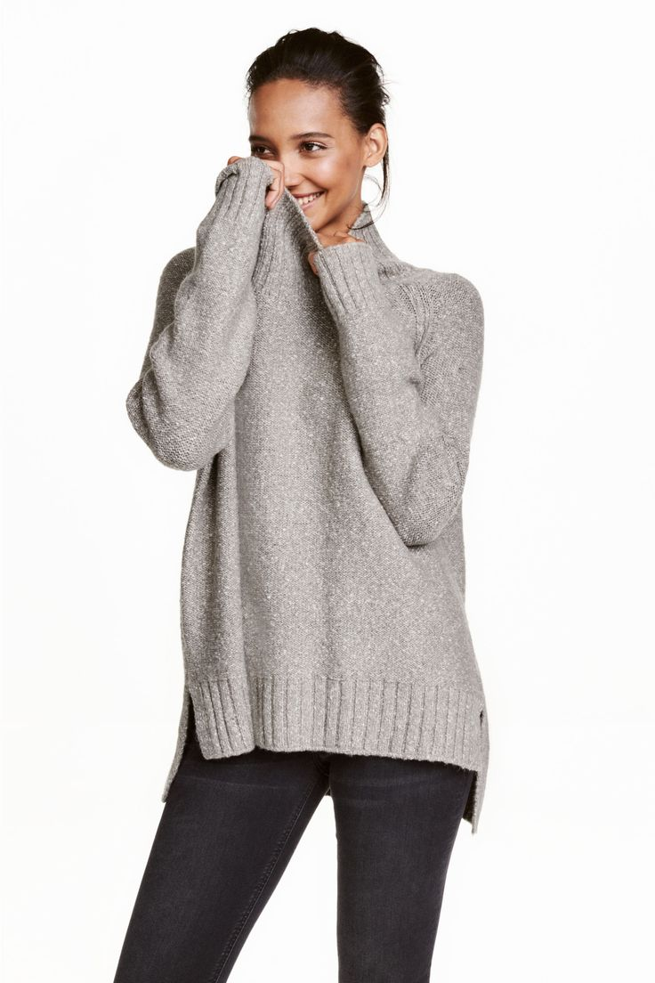 Best 25  Chunky knit jumper ideas on Pinterest | Oversized grey ...