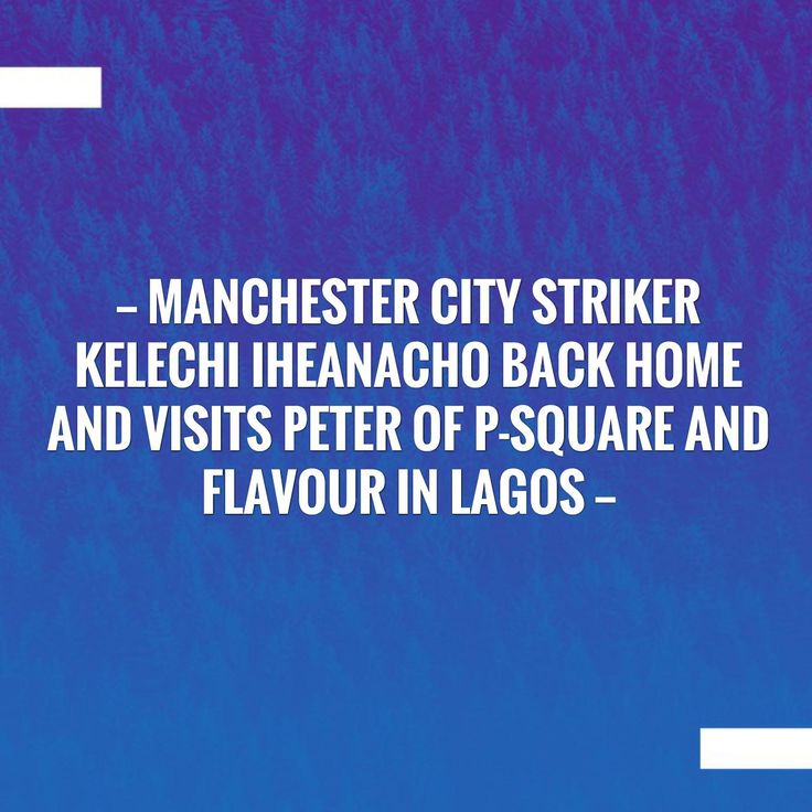 Check out my new post! Manchester City Striker Kelechi Iheanacho back home and visits Peter OF P-square and Flavour in Lagos :) http://sportstribunal.com/football/talks/manchester-city-striker-kelechi-iheanacho-back-home-and-visits-peter-of-p-square-and-flavour-in-lagos/?utm_campaign=crowdfire&utm_content=crowdfire&utm_medium=social&utm_source=pinterest