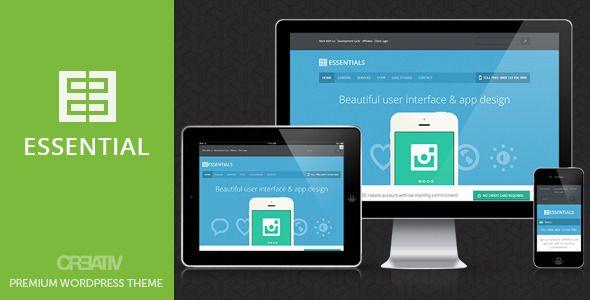 Business Essentials Premium Wordpress Theme - ThemeForest Item for Sale
