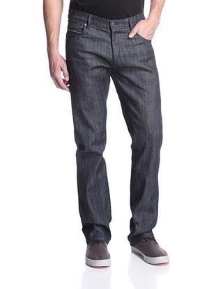 Mondo di Marco Men's Slim Fit Jean with Colored Selvage