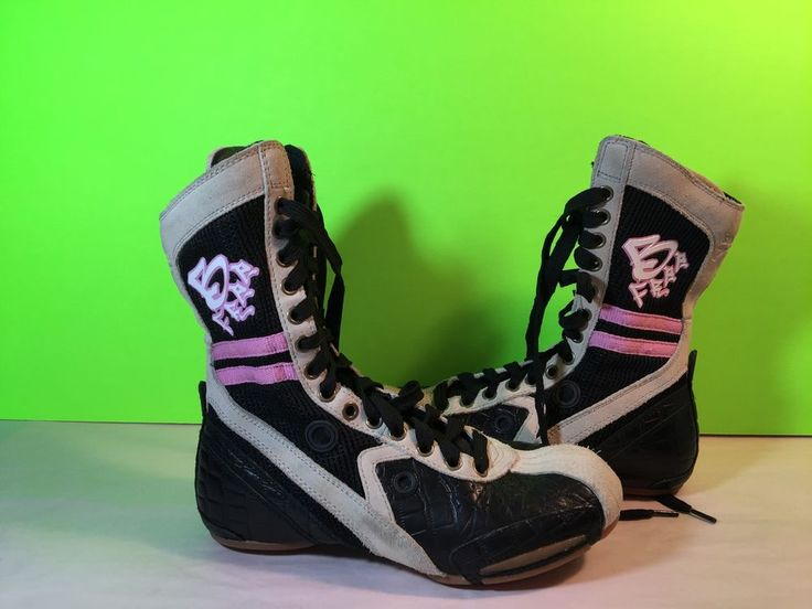 Frontline B Free High Top Hip Hop Dance Shoes Black Gray Pink Size 5 #FrontlineBFree