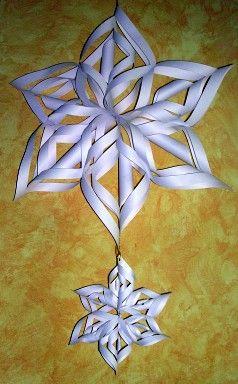 Karácsonyi díszek papírból, kellékek