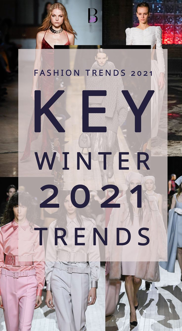 Autumn Winter 2021 Fashion Trends | Tendências da moda ...
