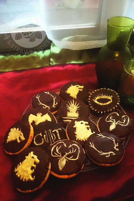 Game of Thrones inspired cookies!  by Lemon & Strawberries - Google+