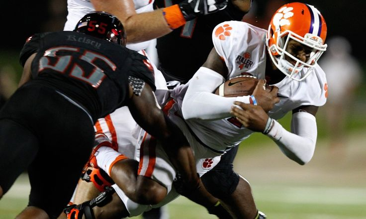 Clemson Edges Louisville in Toughest Road Game on Schedule - TU  Three games into the season, Clemson—the preseason favorite to win the Atlantic Coast Conference—is 3-0 and has already played its most difficult road game on the schedule.....