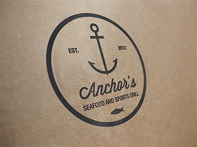 Anchor's Logo v1 by Alpis Design