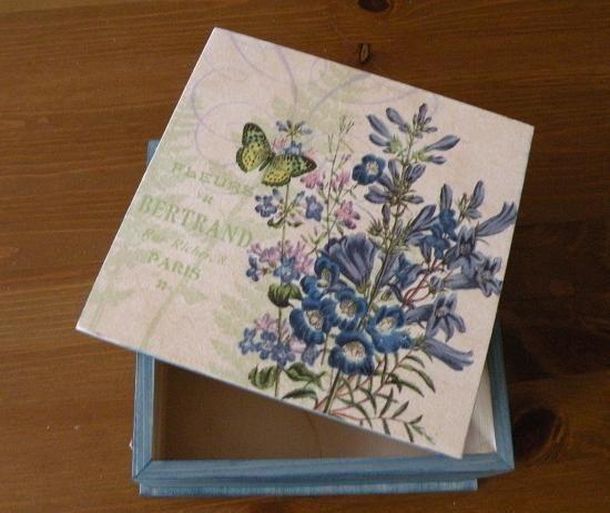 Decorative Recipe Box 2: 17 Best Images About Decoupage Boxes On Pinterest