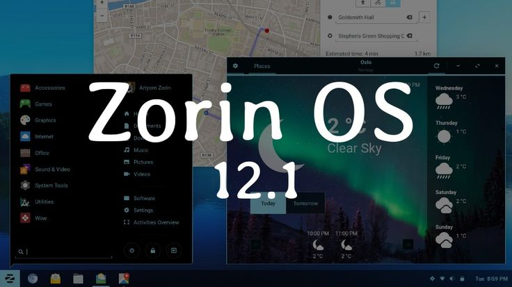 Zorin OS 12.1 Point Release With Linux Kernel 4.8 Is Now Available For Download  #news