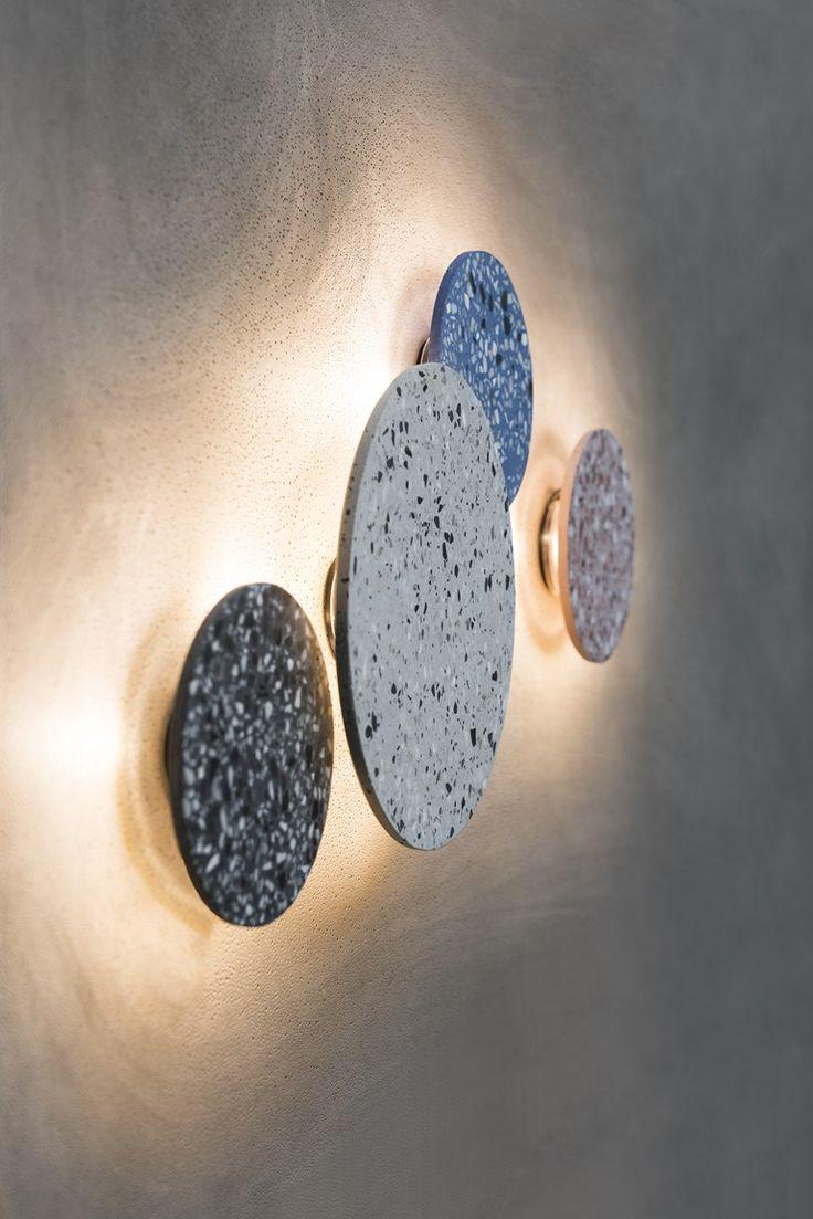 LED indirect light wall light O2 by Bentu Design