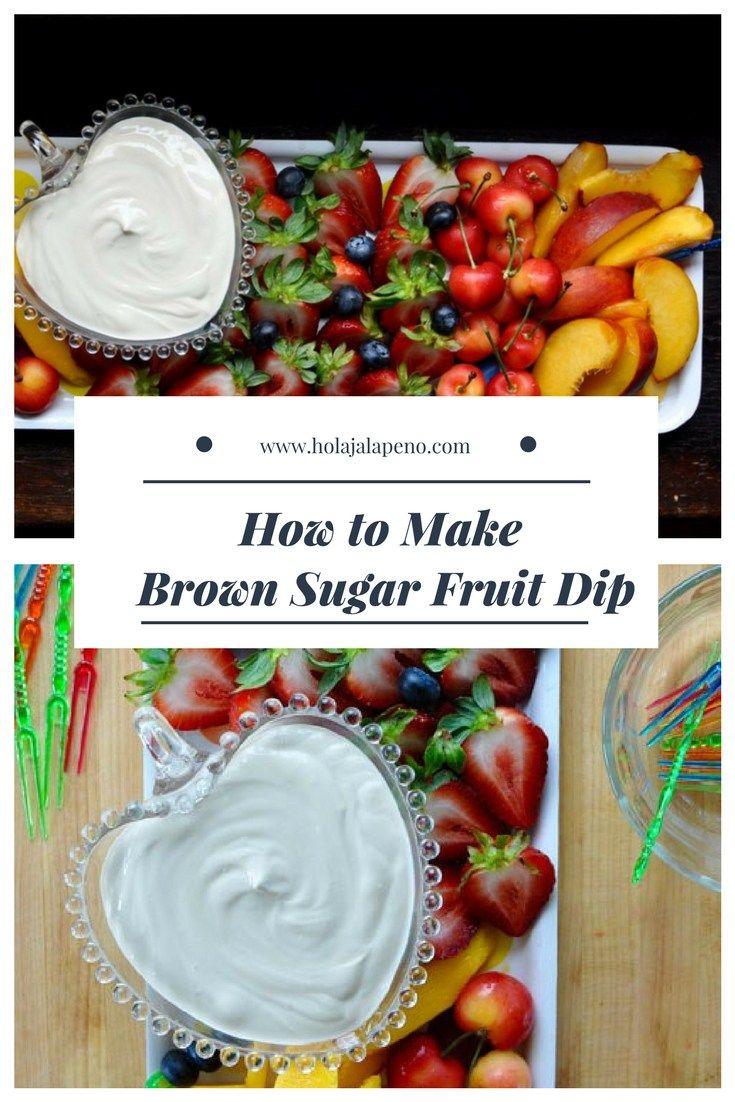 Easy Party Dips Fruit Dip Sour Cream Dip Fruit Dips Recipes