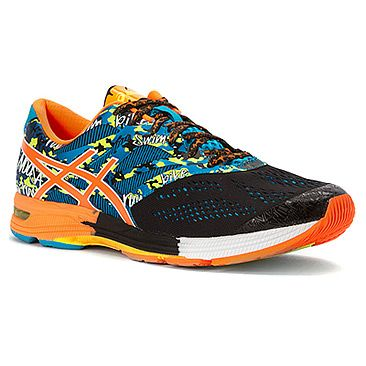 ASICS® GEL-Noosa Tri™ 10 Black/Flash Orange/Flash Yellow