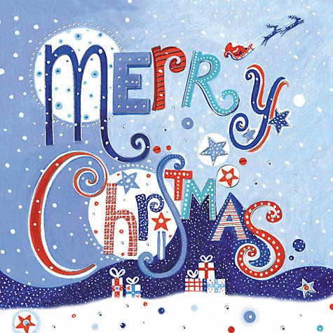 Buy Paperhouse Merry Christmas Charity Cards, pack of 6 Online at johnlewis.com