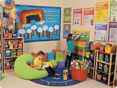 Rainbow Reading Corner