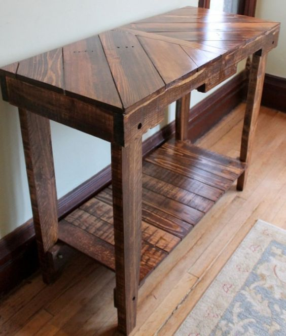 pallet furniture table. 90 Incredible Wood Projects Pallet TablesPallet FurniturePallet Furniture Table