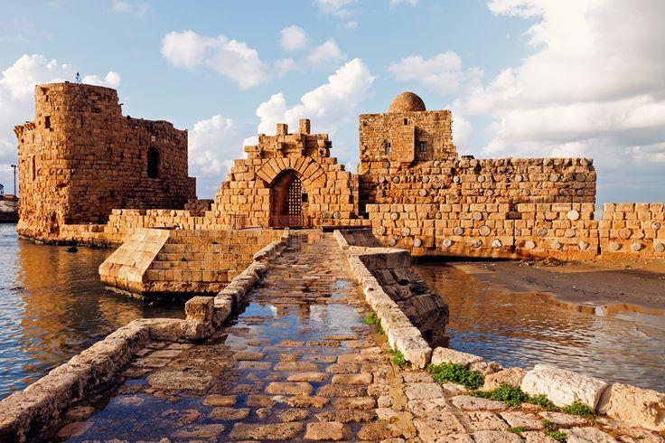 Sidon Sea Castle - Sidon, Lebanon