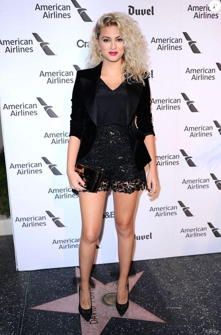 Tori Kellyassiste à la soirée des 75 ans du label Capitol Records à la Capitol Records Tower. Los Angeles, le 15 septembre 2016.