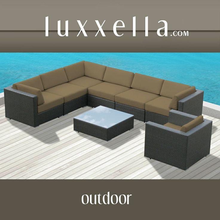 Bella Life Rattan Garden Furniture: Patio Furniture #patiofurniture #wickerfurniture